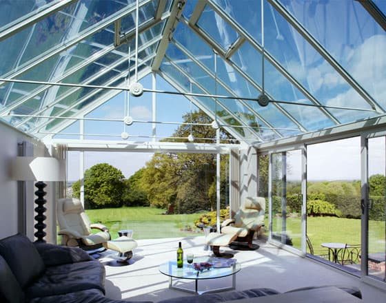 solid conservatory roof installation
