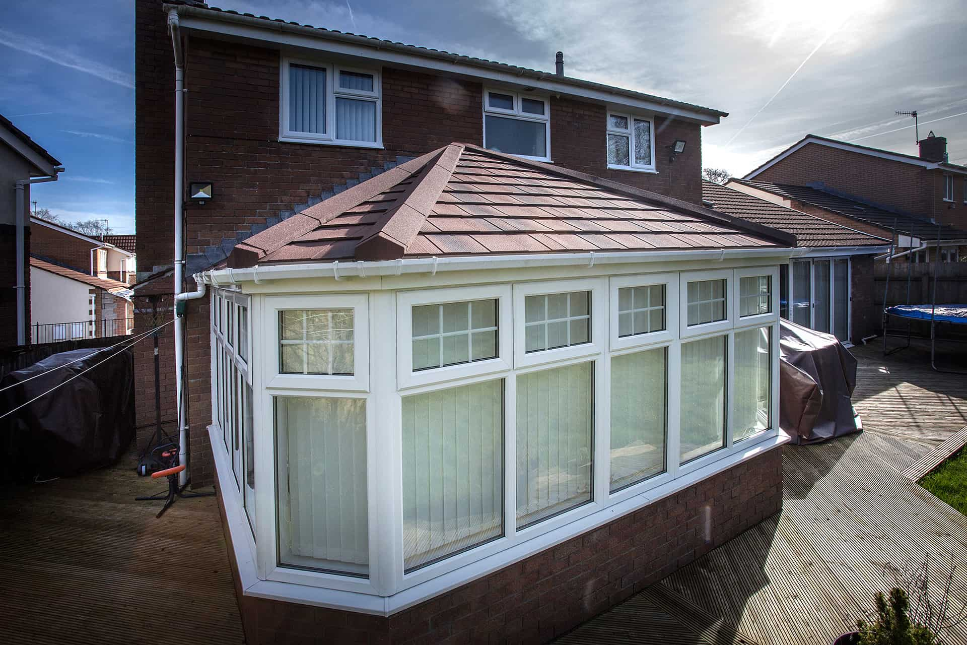 Conservatory solid roof replacement