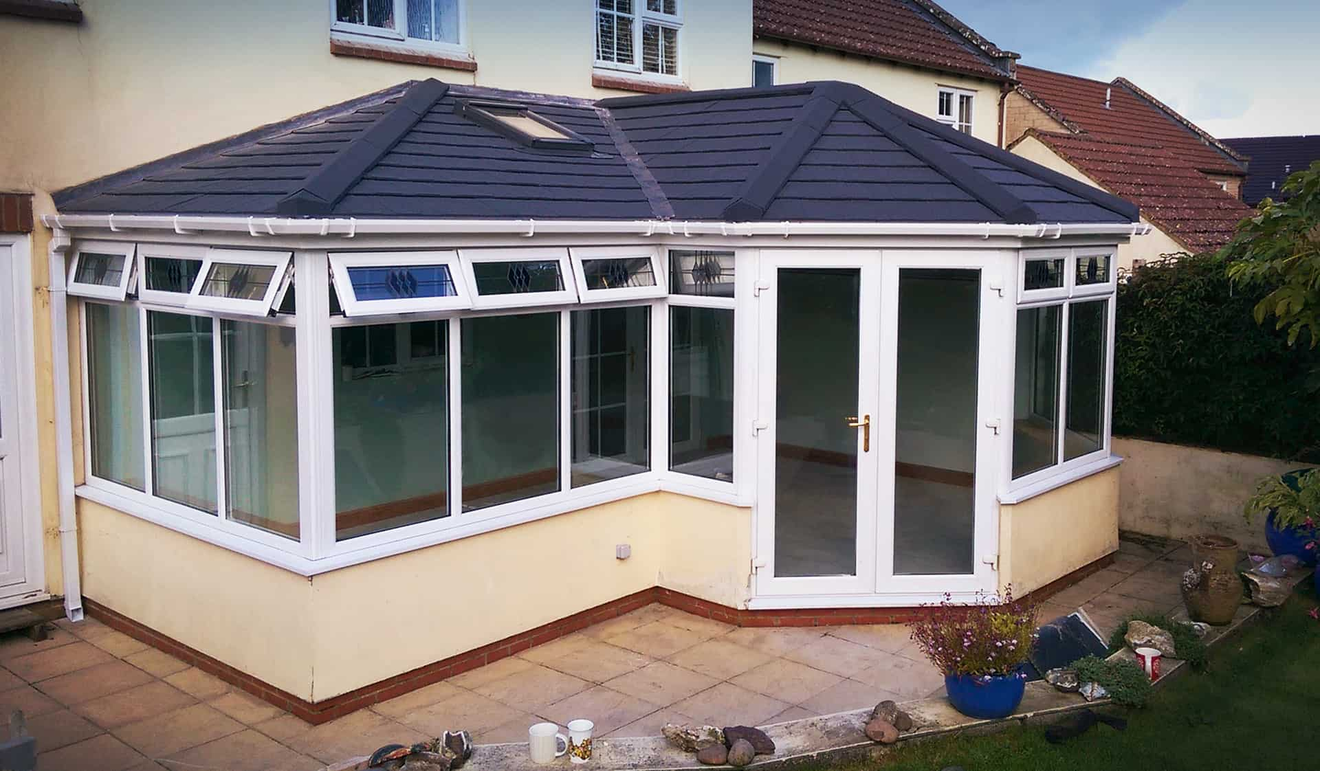 Conservatory roof after
